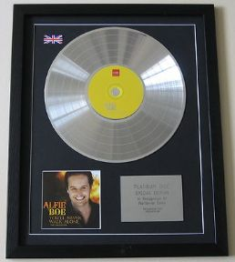 ALFIE BOE - You'll Never Walk Alone CD / LP PLATINUM PRESENTATION DISC